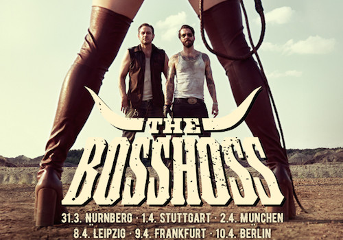 "THE BOSSHOSS  Album ""DOS BROS"" VÖ: 25.09.15"