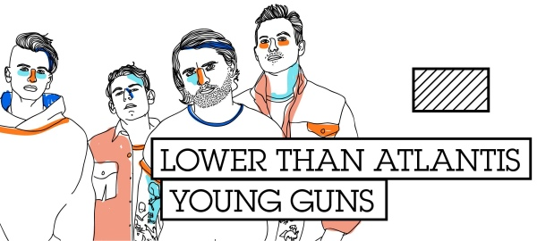 Rockinconcerts: Lower Than Atlantis // Young Guns
