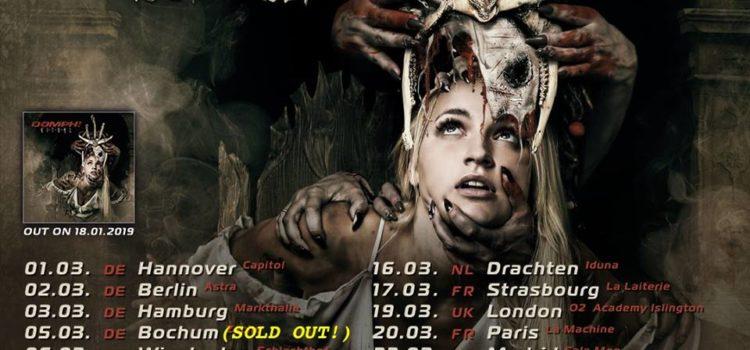Oomph! gehen mit neuem Album RITUAL auf Tour!